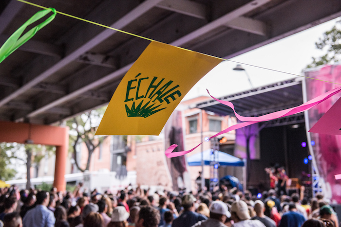 Échale! 2014 draws a massive crowd for an afternoon of food, music and art. Photo by Nick Simonite.