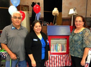 Fred, Maricella and Becky Borroel. Courtesy photo.
