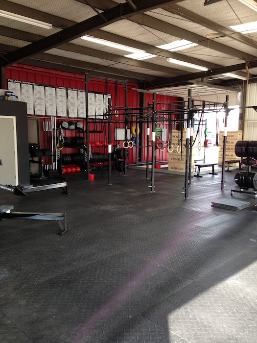 A view of the CrossFit MBS studio on Jones Avenue. Courtesy photo.