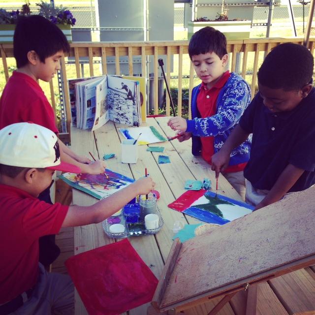 Students at Magnolia Montessori for All. Courtesy photo.