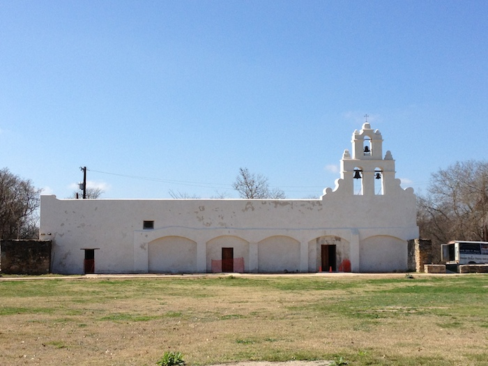 Mission San Juan is an active parish and has been a parish church since 1909. Photo courtesy of Old Spanish Missions.