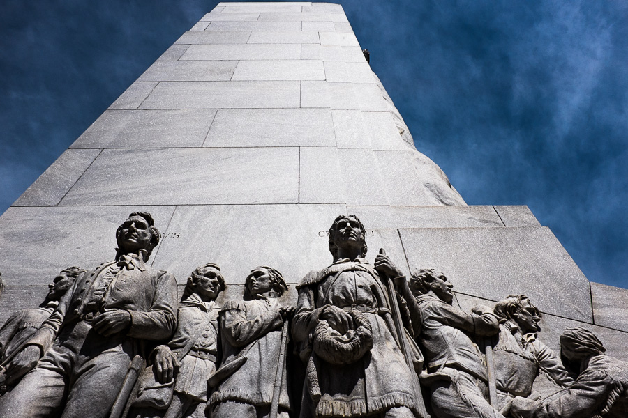 The Alamo Cenotaph. Photo by Scott Ball.