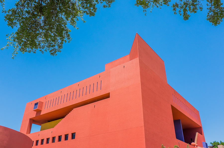 The exterior of the Central Library in downtown San Antonio. Photo by Scott Ball.