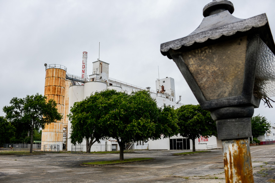 The Lone Star Brewery. Photo by Scott Ball.