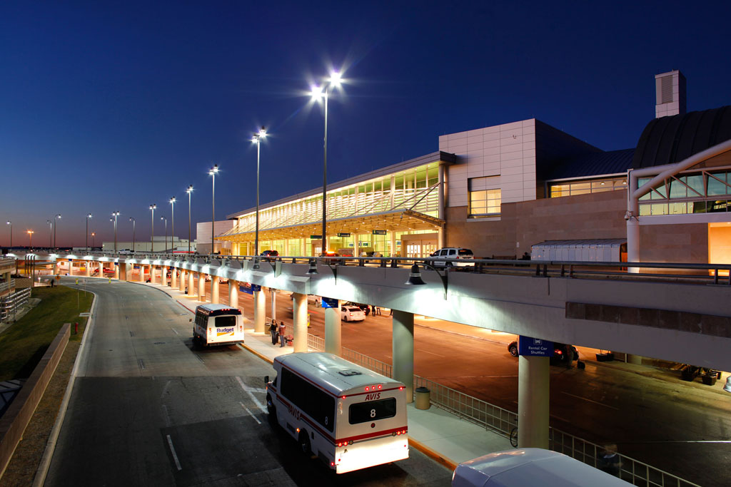 Terminal B at the San Antonio International Airport (SAT). Courtesy of the San Antonio Airport.