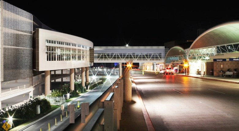 Plans for the San Antonio Airport's new Consolidated Rental Car Facility. Courtesy rendering.