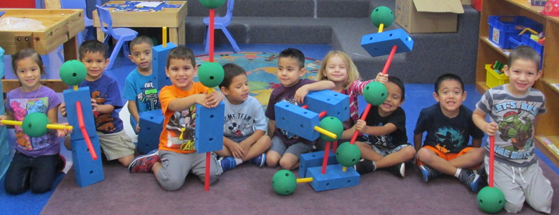 Pre-k class at the Blessed Sacrament Academy's Child Development Center. Photo courtesy of Blessed Sacrament Academy.