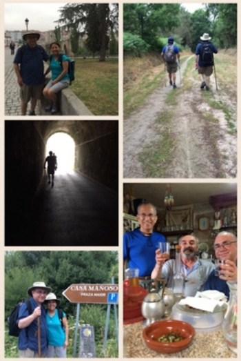 Fr. David Garcia shares glimpses into his journey on El Camino a Santiago in Spain. Courtesy photo.