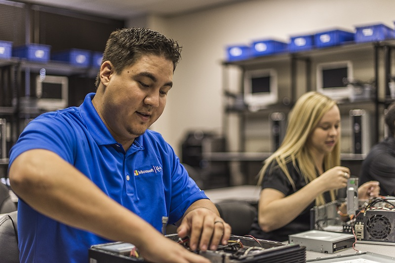 Hallmark University is a nonprofit college in San Antonio offering degrees in aviation maintenance, information technology, cybersecurity, business, nursing and medical assisting, Courtesy photo.
