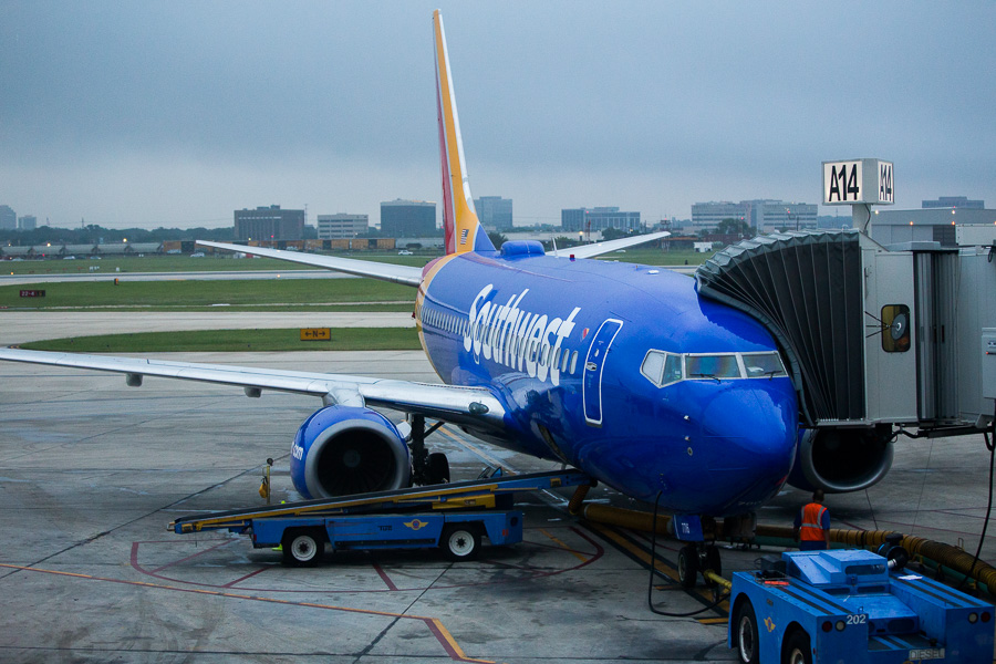 Southwest Airlines. Photo by Scott Ball.