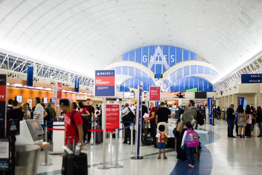 Terminal A. Photo by Scott Ball.