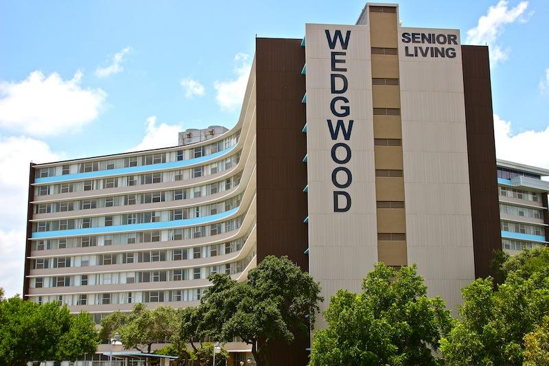 Wedgewood Senior Living Condominiums on 6701 Blanco Rd. Photo by Hagen Meyer.