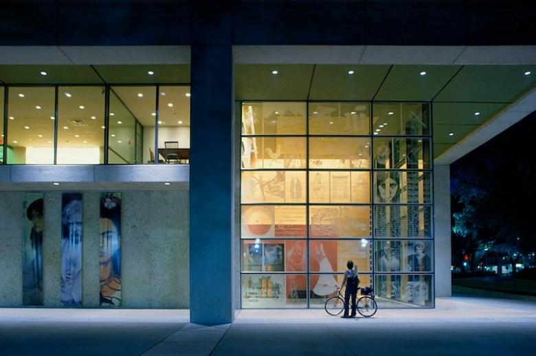 The Harry Ransom Center at the University of Texas at Austin. Photo courtesy of Lake/Flato Architects.