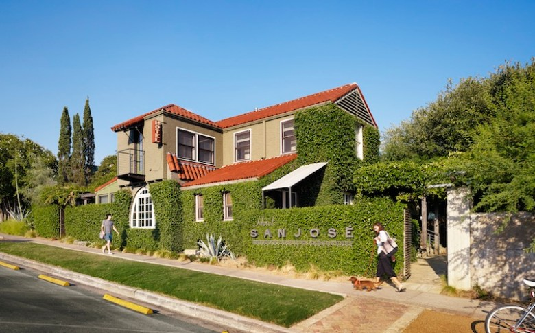 Hotel San Jose on South Congress Avenue in Austin. Photo courtesy of Lake/Flato Architects.