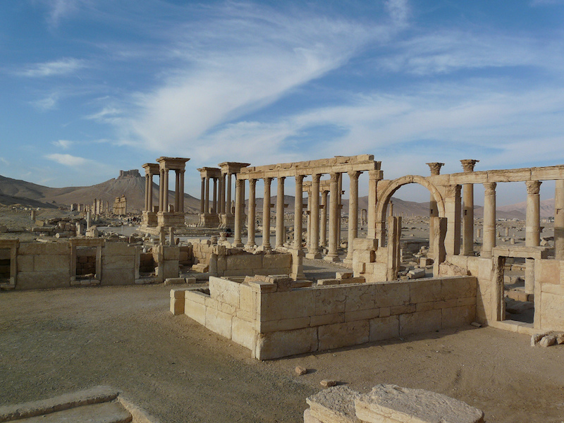 ISIS seized control of Palmyra, a UNESCO World Heritage Site dating back 2,000 years, in May. Photo courtesy of Flickr user Varun Shiv Kapur.