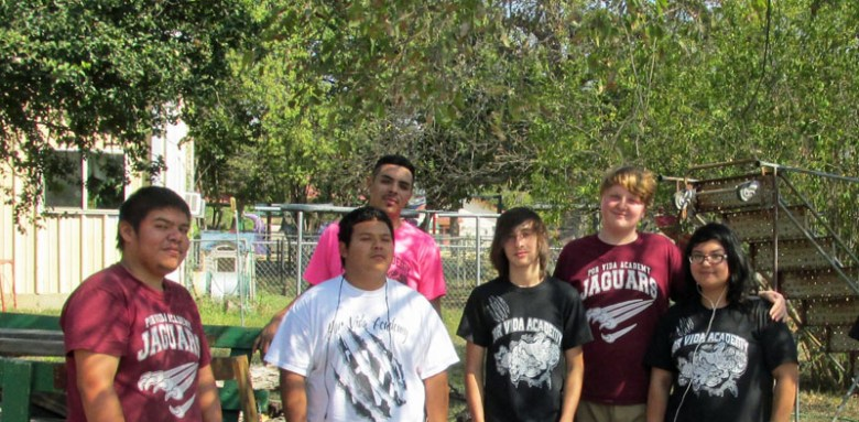 The Horticulture Club helped with the Community Garden last fall. Courtesy photo.