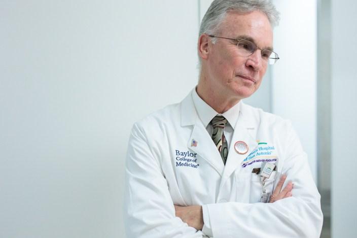 Pediatrician-in-chief Mark Gilger, M.D. Photo by Scott Ball.