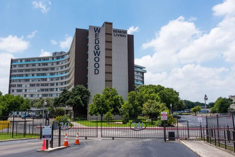 Wedgewood Senior Living Condominiums on 6701 Blanco Road. Photo by Scott Ball.