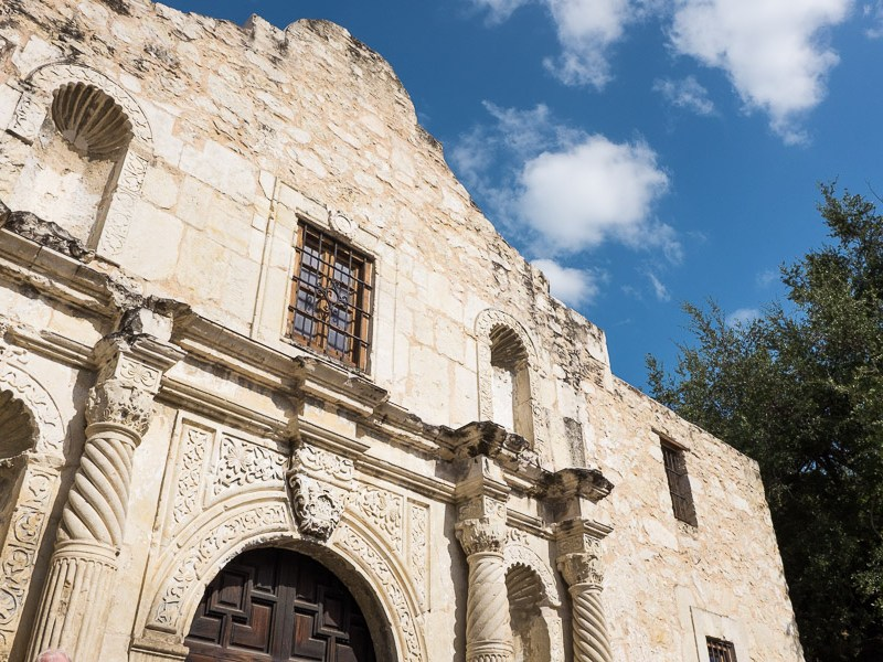 The Alamo. Photo by Scott Ball.m