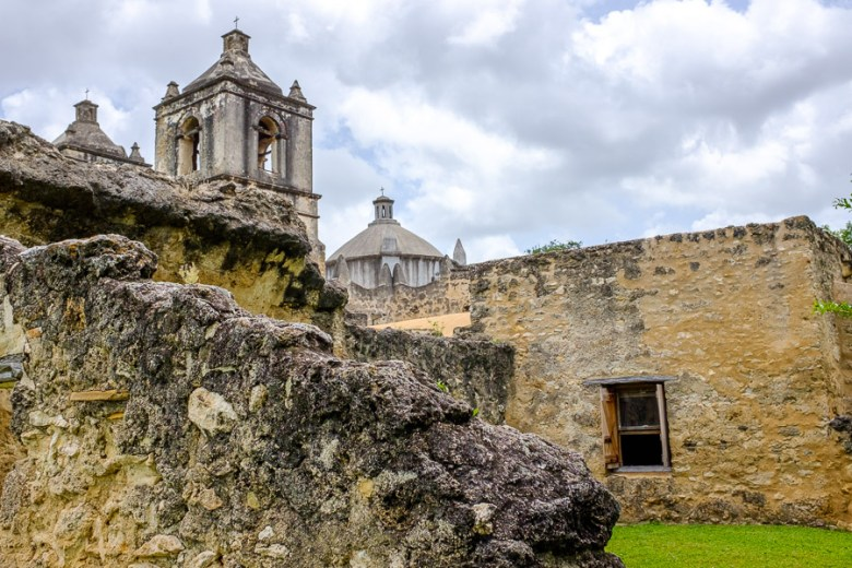 Mission Concepción. Photo by Scott Ball.