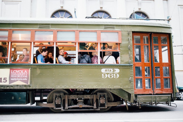 The New Orleans RTA streetcar system. Photo by Scott Ball.