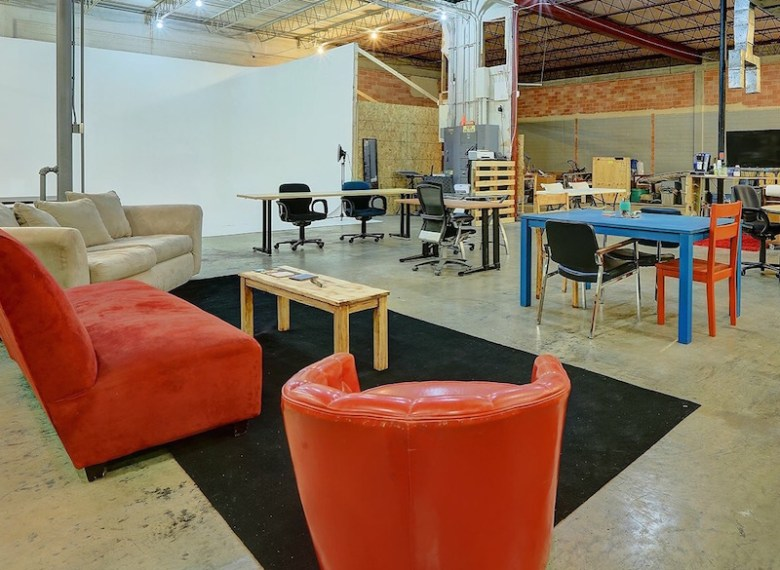Co Lab set up a comfortable space for its members. Photo courtesy of Co Lab.