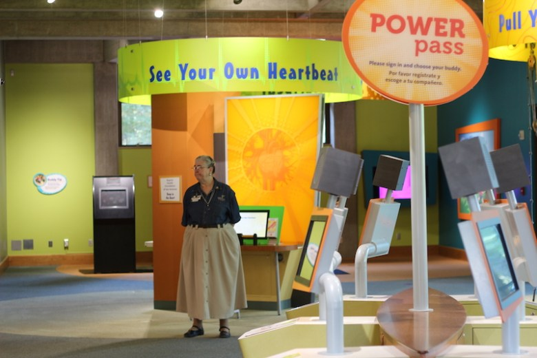 The ground floor of the H-E-B Body Adventure. Photo by Joan Vinson.