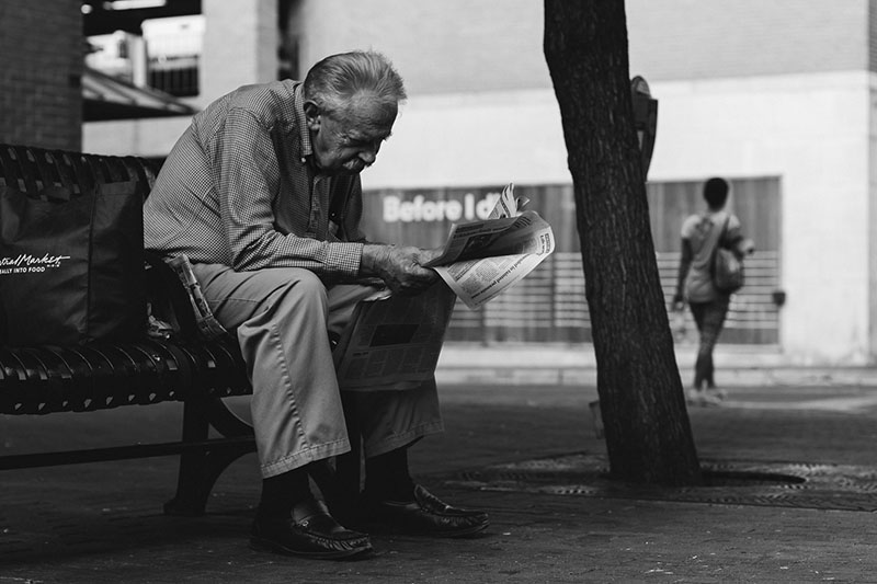An example of the street photography that will be exhibited at the Street Keepers Gallery show on Saturday, August 15. Photo by Blue Hernandez.