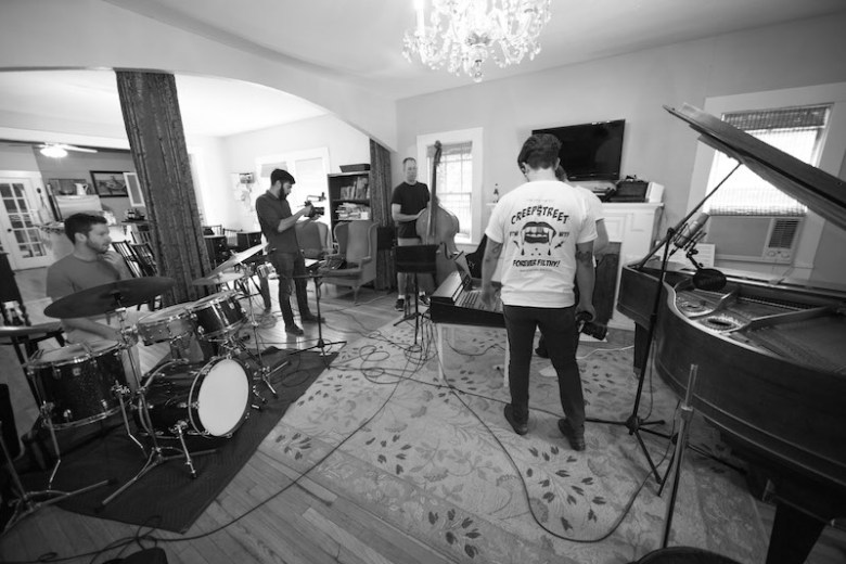 Doc Watkin's living room. Photo by Hilmy Productions.