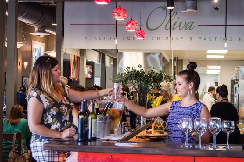 O'liva Healthy Local Cuisine & Tasting Room highlights the fresh produce and vibrant history of San Antonio. Photo by Lea Thompson.