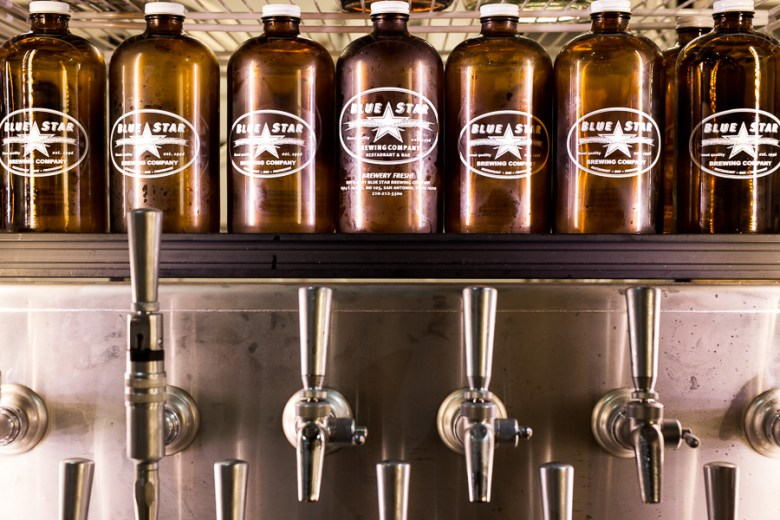 Craft beer, kombucha, carbonated water, and more is all on tap. Photo by Scott Ball
