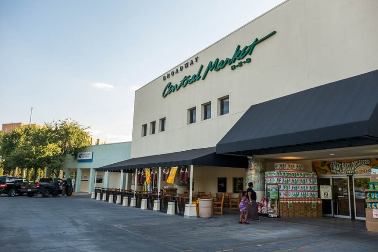 Central Market located on Broadway Street. Photo by Scott Ball.