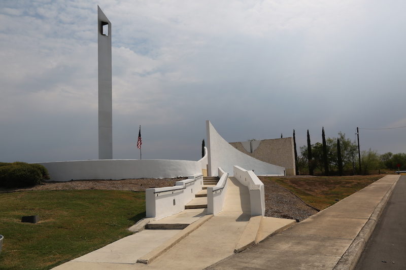 A collection of monuments was built and dedicated two years after the terrorist attacks. Photo by Kay Richter.