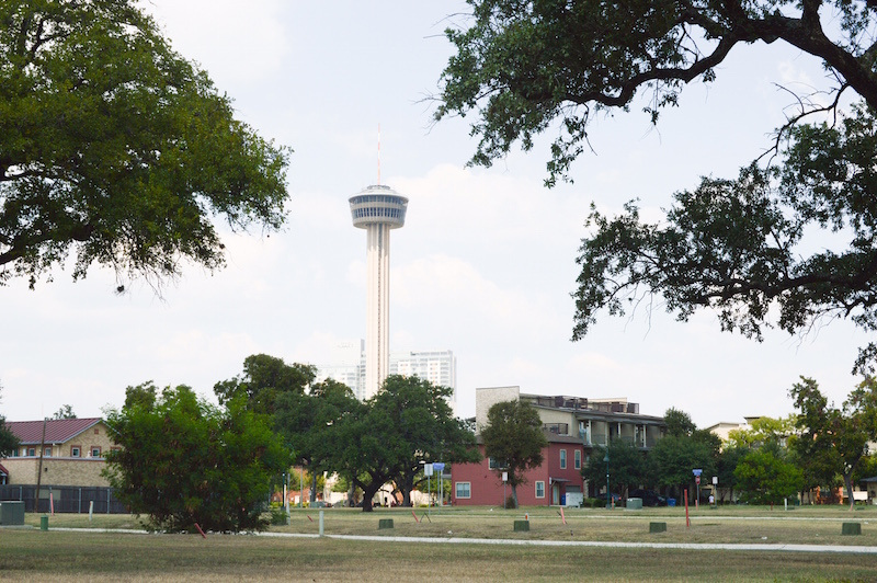 The Leigh Street lots are located within the historic Lavaca Neighborhood, just minutes away from the transforming Hemisfair Park, Southtown and The Tower of the Americas. Photo by Lea Thompson.
