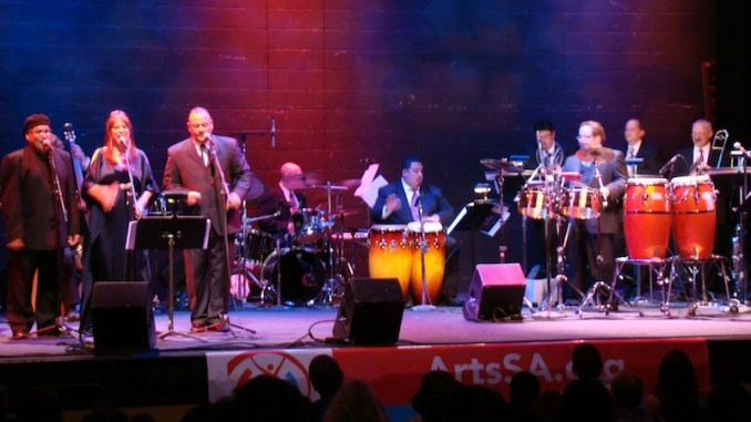 Henry Brun and the Latin Playerz Orchestra perform at the Empire Theatre in 2010. Courtesy photo.