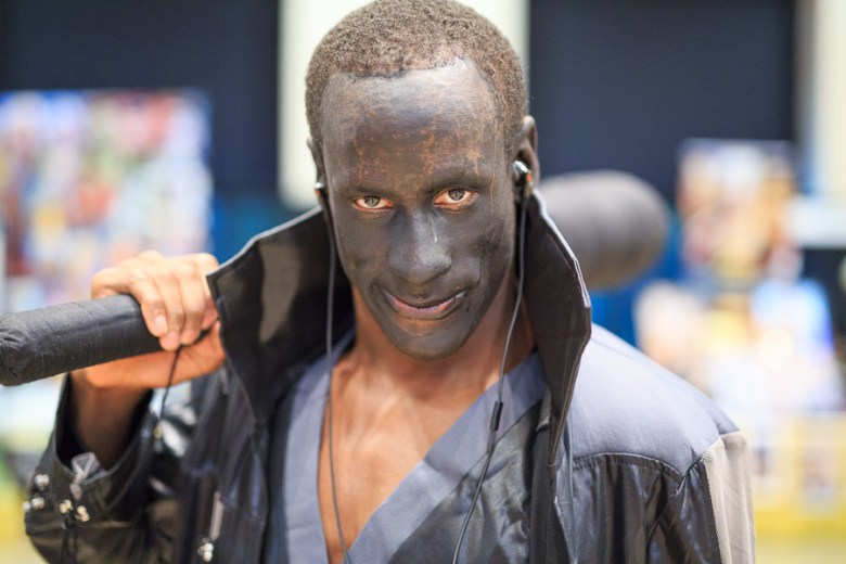 Bishop Harris cosplays as Frightening. Photo by Scott Ball.