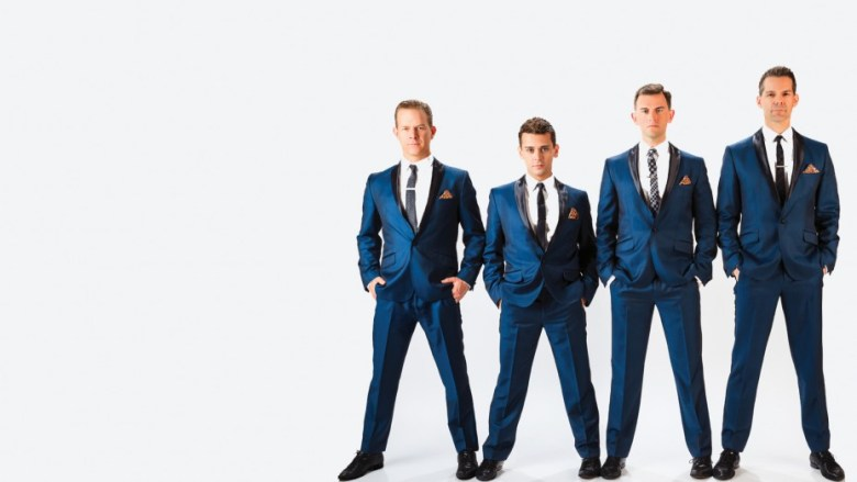 The Midtown Men are the Jersey Boys of Broadway fame. They will perform at the Tobin Oct. 14. Photo courtesy Tobin Center.