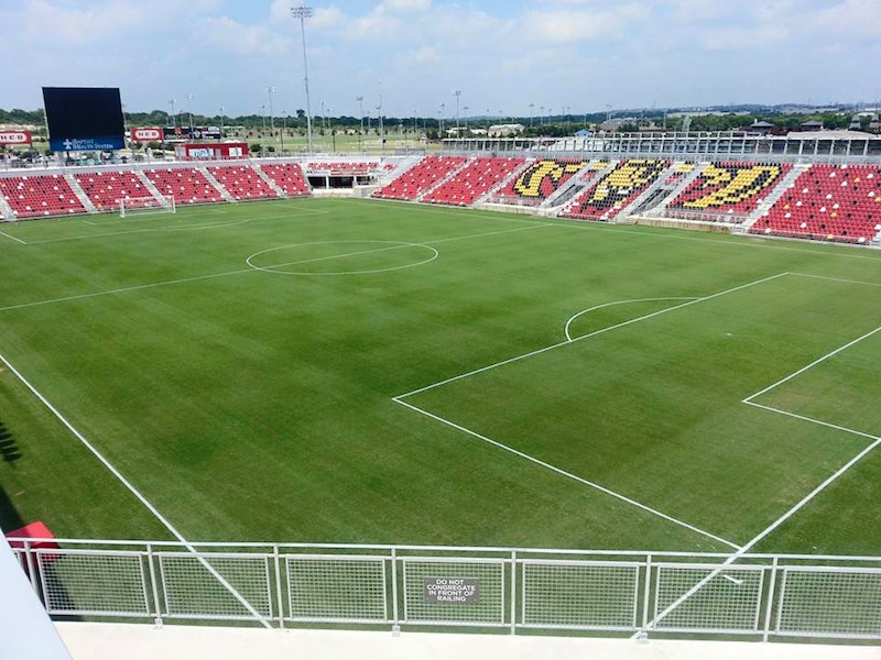 A current photo of Toyota Field. Courtesy of the Toyota Field Facebook page.