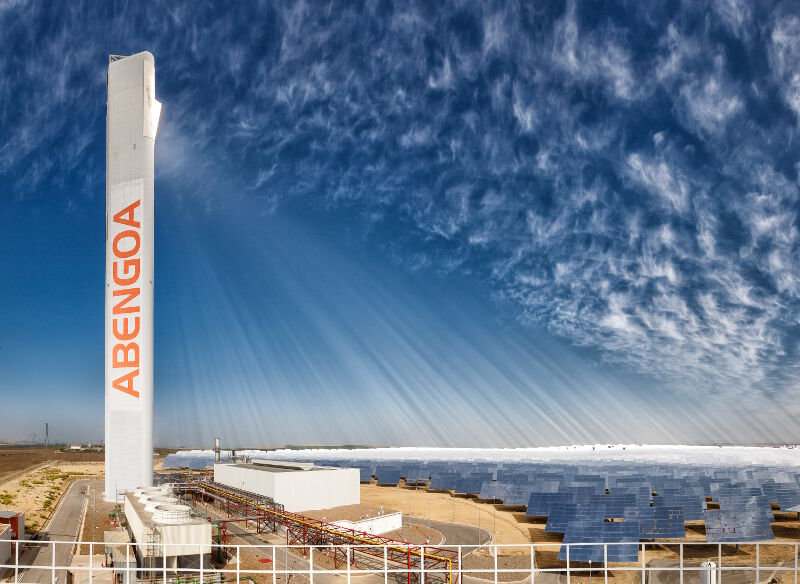 The Abengoa PS20 Solar Power Plant located near Andalusia, Spain. Courtesy photo.