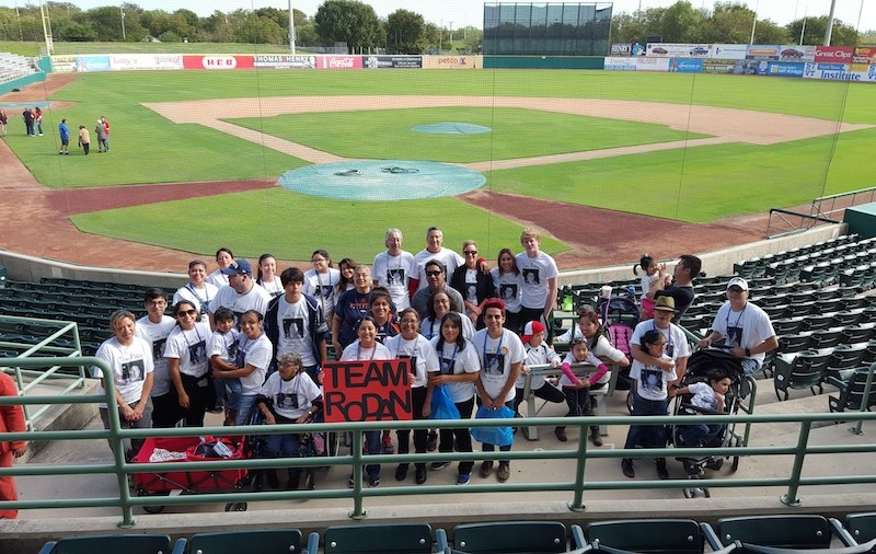 Team Rodan during the 2015 Out of the Darkness Walk for Suicide Prevention. Photo by Augustine Cavazos.
