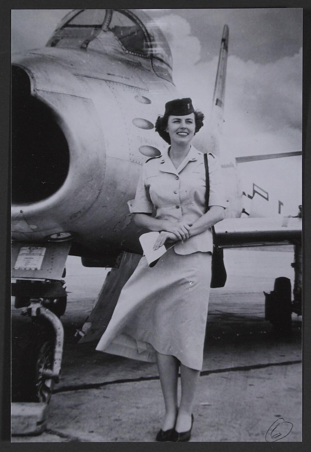 Lt. Mary Tener Davidson Hall, Komaki Air Base, F-86