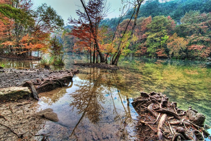 An autumn day in the Texas Hill Country. Photo by Steve Horne.