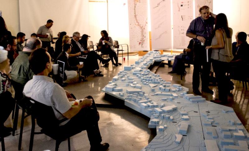 UTSA hosts a colloquium on the Alamo Heights Broadway project on Sept. 24, 2015. Photo courtesy of UTSA.