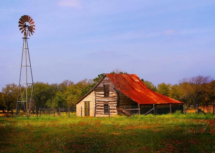 A Hill Country farm house. Photo by Wanda Carole Wrinkle Ford.