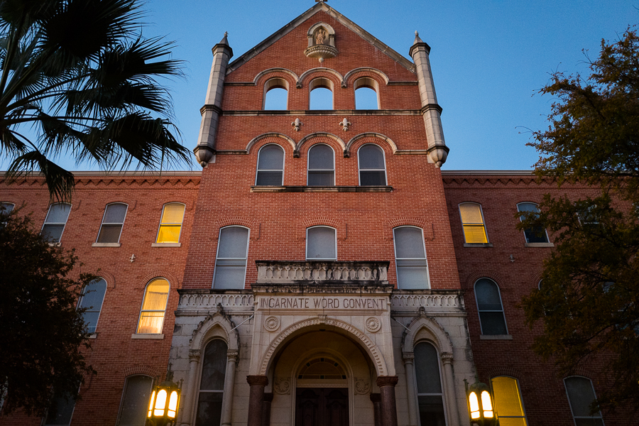 The Incarnate Word Convent building. Photo by Scott Ball.