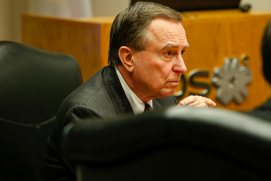 Ed Kelley's final term on the CPS Energy board of trustees will end on Jan. 31, 2022.