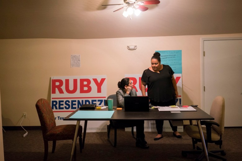 Ruby Resendez will face Martin Golando March 1, in the campaigns 2016 Democratic primaries for District 116 of the Texas House of Representatives. Photo by Kathryn Boyd-Batstone