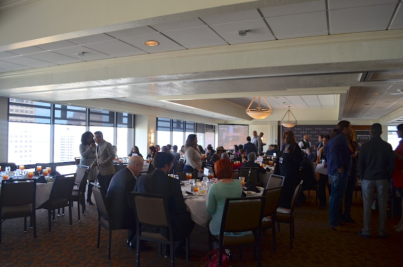 Attendees take their seats for the DreamVoice awards luncheon. Photo by Camille Garcia.