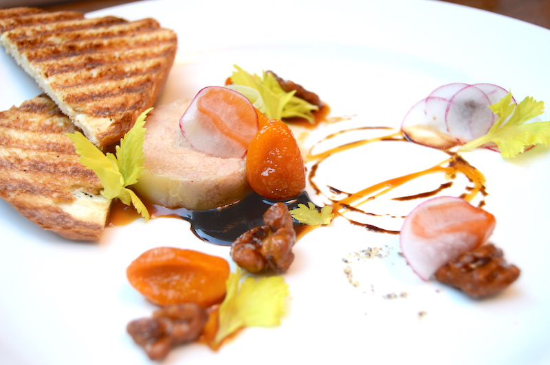 Hudson Valley Foie Gras Torchon at Zinc Bistro & Bar. Photo by Lea Thompson.