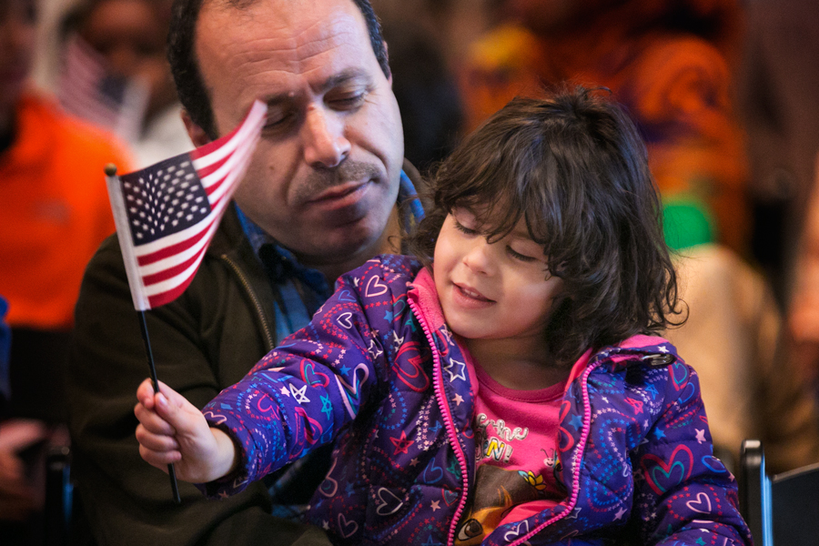 The children and teens were either adopted by U.S. citizen parents or gained citizenship when their immigrant parents became naturalized citizens. Photo by Kathryn Boyd-Batstone